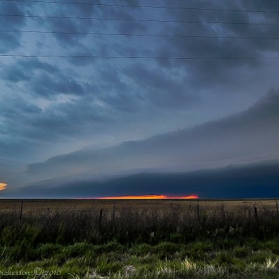 Sunset Supercell 5-16-2016