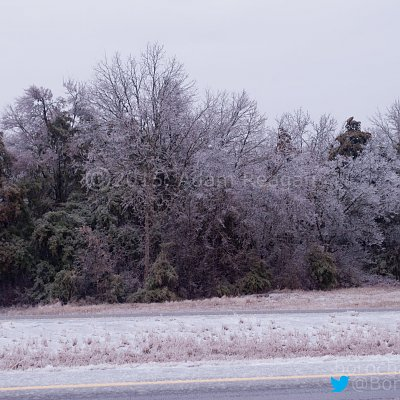 Ice Storm Murfreesboro, TN February 16, 2015